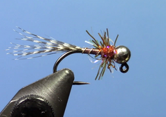 Teal & Brown Jig Fly