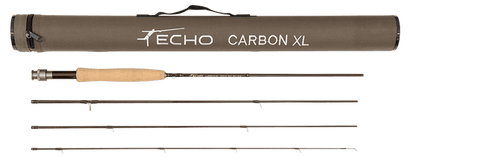 Echo Carbon XL Fly Rod with Tube