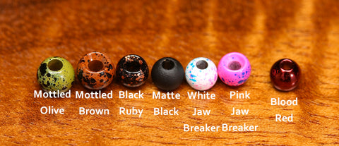 Hareline Plummeting Tungsten Beads New Colors