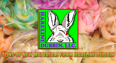 New Fly Tying Materials Hareline Dubbin