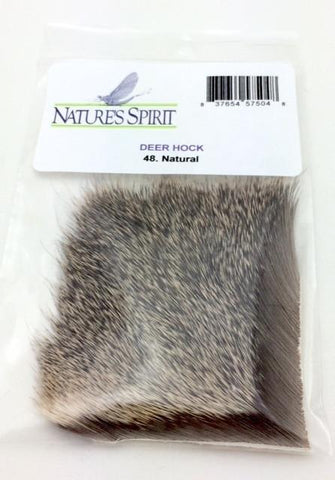 "Nature's Spirit Deer Hock- 1 1/2 x 2"" Natural"