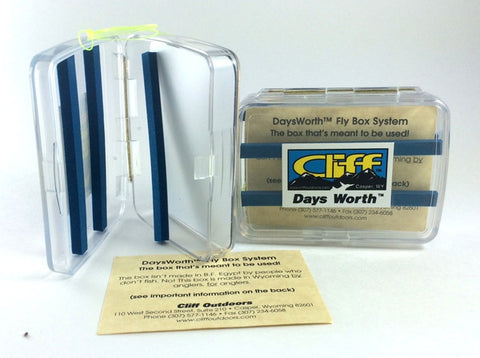 Cliffs Days Worth Magnetic Fly Box