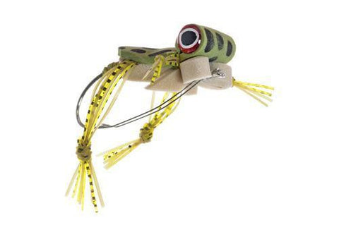 Freaky Frog Size 2 Bass Fly Umpqua Largemouth Weedless