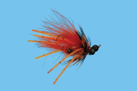 Carp Craw Orange Size 8 Carp Flies