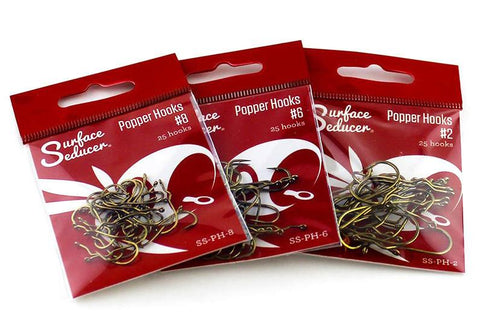 Surface Seducer Popper Hooks