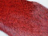 Wapsi Premo Deer Hair Strips Red