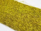 Wapsi Premo Deer Hair Strips Yellow