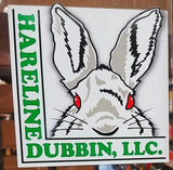 Hareline Dubbin Sticker 2 Pack - White
