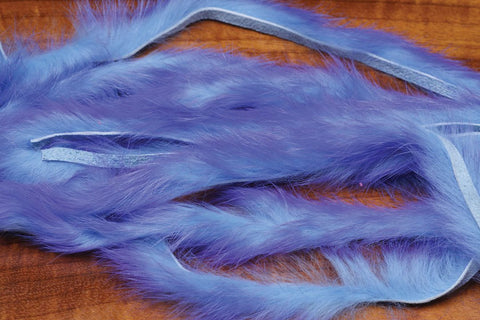 Hareline Dubbin Two Toned Rabbit Strips Fly Tying