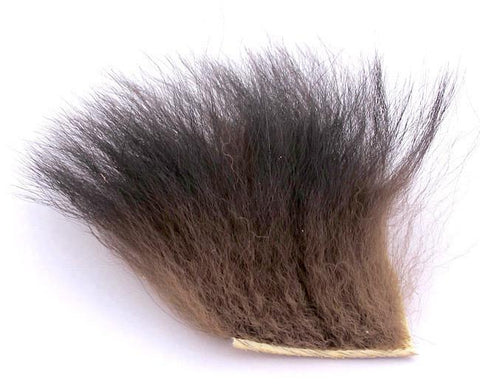Nature's Spirit Black Bear Hair Wing Fur Fly Tying