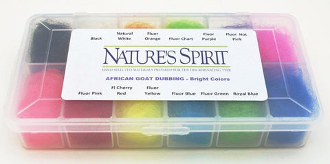 Nature's Spirit African Goat Dispenser - Bright Colors