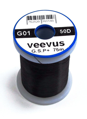 Veevus 50 Denier Gel Spun Thread Black
