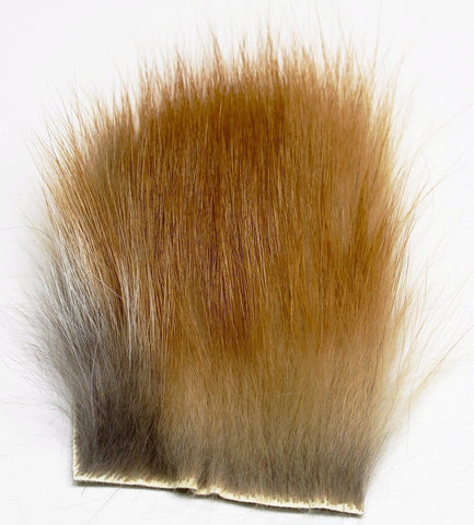 Dubbing Fur Piece - Premium Tanned Red Fox