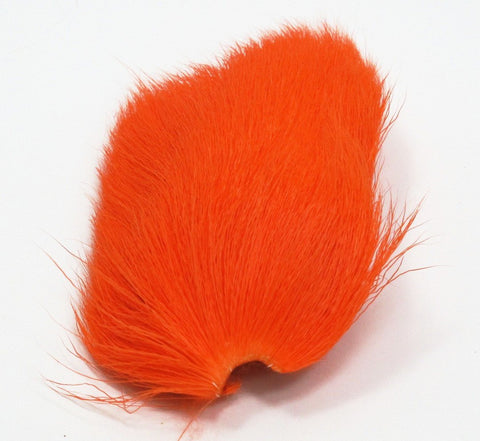 Nature's Spirit Dyed Deer Belly Hair Orange