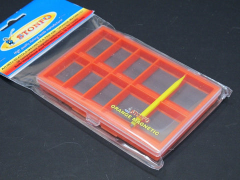 Stonfo Magnetic Hook/Fly Box Small Orange