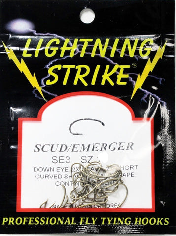 Lightning Strike SE3 Scud Hook 25 Pack