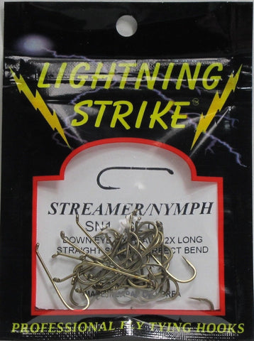 Lightning Strike SN1 Streamer Hook 25 Pack