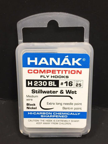 Hanak Hooks Model 230 BL Wet Fly 25 Pack