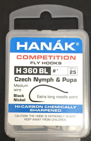Hanak Hooks Model 360 BL Nymph