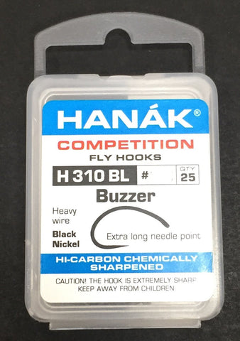 Hanak Hooks Model 310 BL Nymph 25 Pack