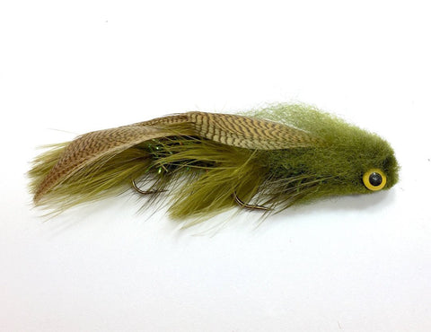 Galloup's Boogieman Streamer Olive Sculpin Fly
