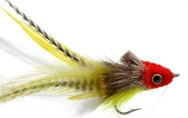 Umpqua Swimming Baitfish Red/Yellow 1/0
