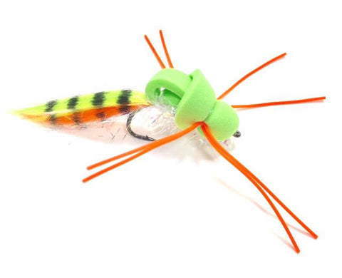 Covert Mission Bass Fly Chartreuse Size 4