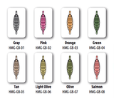Hemingway Gammarus Back Colors Fly Tying
