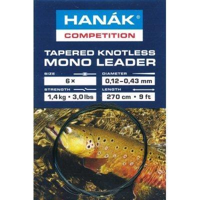 Hanak Tapered Knotless Leader Camo 9'