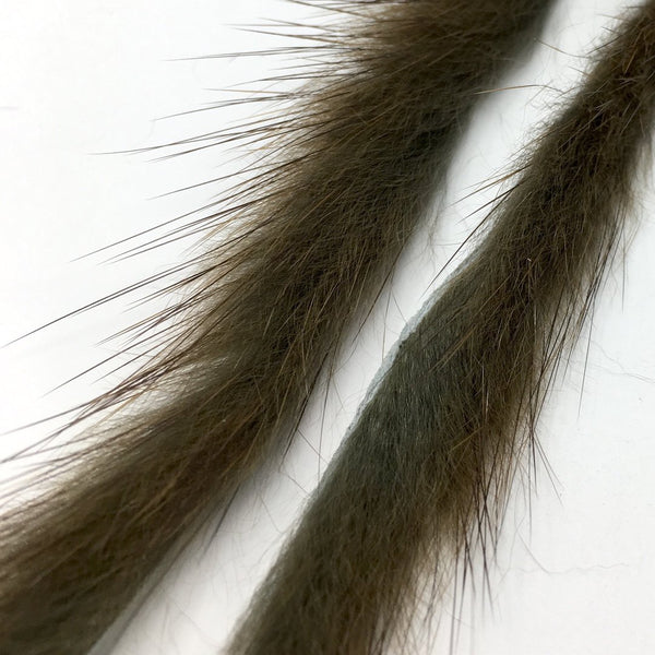 Fly Tying Material Hends Products Muskrat Zonker Strips 1.5mm