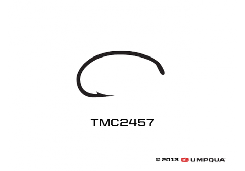 Tiemco 2457 Hook 100 Pack