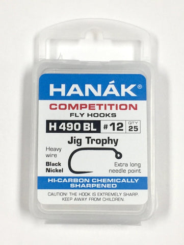 Hanak Hooks Model 490 bl Jig Hook 25 Pack