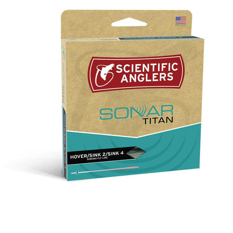 Scientific Anglers Sonar Titan WF Hover/S2/S4 Fly Line