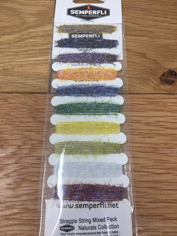 Semperfli Straggle String Mixed Pack  - Naturals Collection