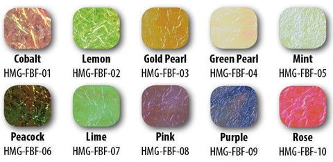 Hemingway Flash Back Foil Color Chart Fly Tying