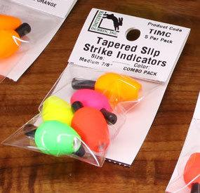 Hareline Tapered Slip Indicator Combo Pack Medium 7/8 Inch