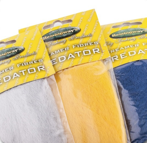 Hemingway's Predator Streamer Fibers fly tying material