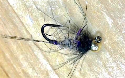 Tungsten Jig Brush Hog Nymph