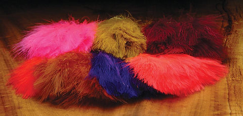 Hareline 1 oz Blood Quill Marabou