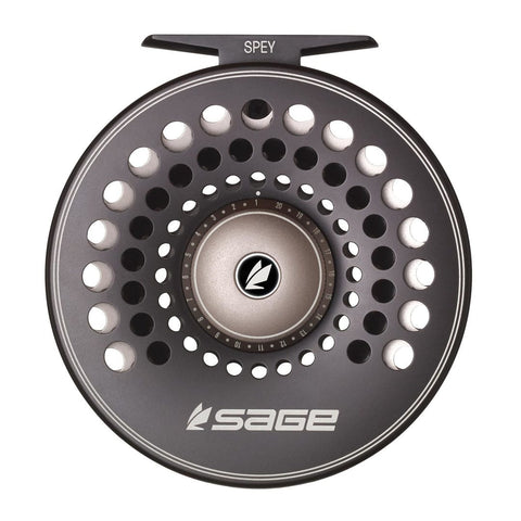 sage spey reel gunmetal spey fishing steelhead