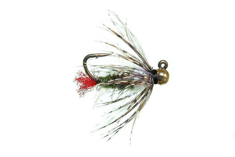 Bloom's Optic Nerve Red Butt Jig nymph