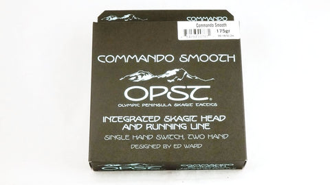 OPST Pure Skagit Commando Smooth Head integrated fly line