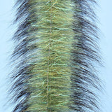 Ep Invader Brush 4.5 inch fox fly tying flash streamers olive