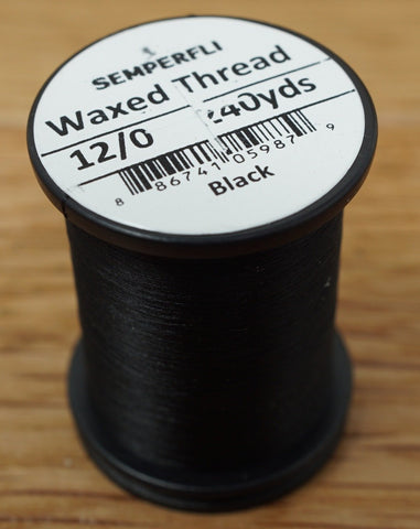 Semperfli Classic Waxed Thread 12/0