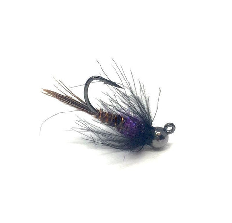 Tungsten Jig Pheasant Tail Nymph Purple
