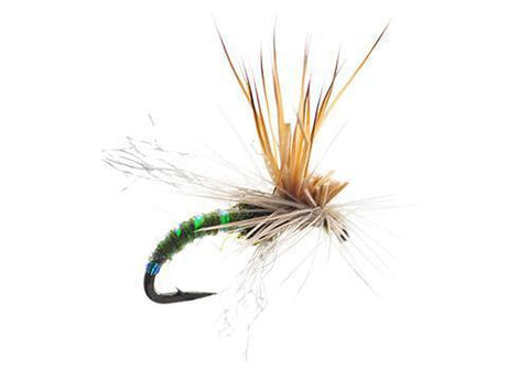 Mercer's Missing Link olive dry fly emerger spinner trout