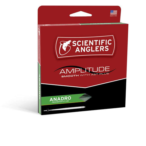 Amplitude Smooth Stillwater Indicator  -  Orange / Willow / Optic Green