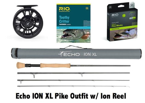Echo Ion XL Pike Outfit w/ Ion Reel