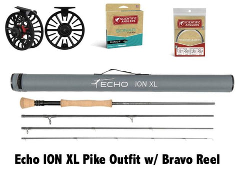 Echo Ion XL Pike Outfit w/ Bravo Reel