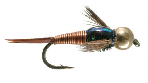 Copper John Nymph Trout Flies